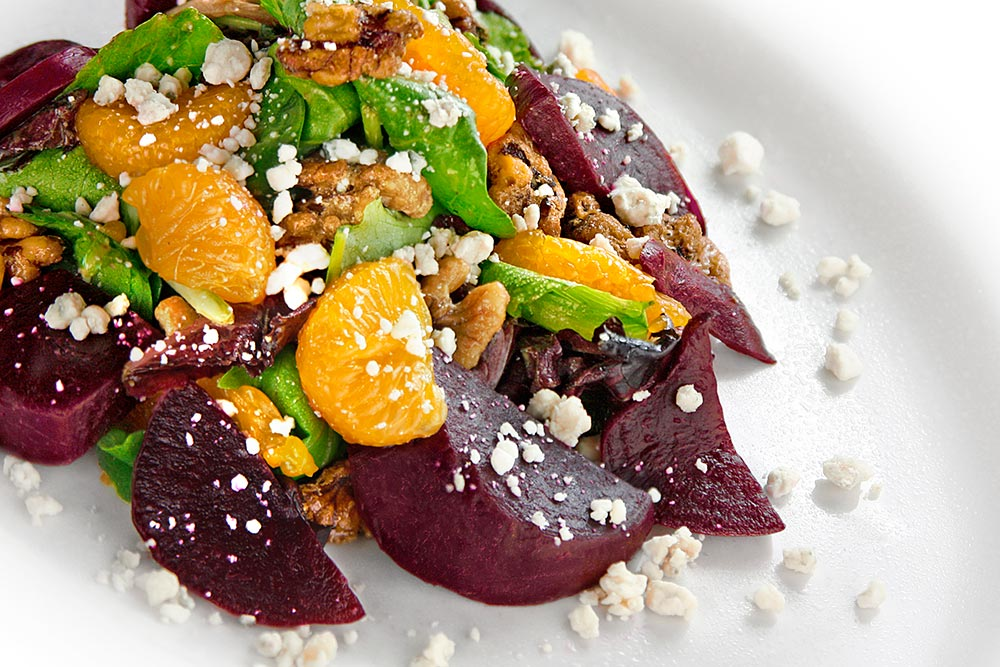Beet And Mandarin Salad