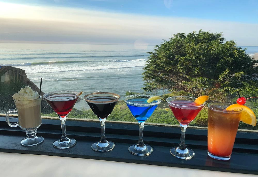 Moss Beach Distillery Signature Cocktails Lineup